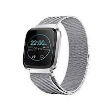 Smart Watch with Bluetooth Fitness Tracker Color ... - Amazon.com