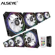 2019 <b>ALSEYE 120mm Fan</b> RGB PC <b>Fan Cooler</b> For Computer RF ...