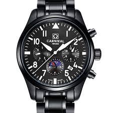 <b>CARNIVAL Switzerland Watches Men</b> Multi Function Auto <b>Watch</b> ...