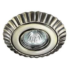 Встраиваемый <b>светильник Novotech 370272</b>, бронза