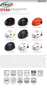 suomy sfera road cycling helmet colors size m cm questions and answers about this item