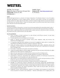 job description job title  regional sales manager dach reports tojob title  plant manager location  regina reports to  regional