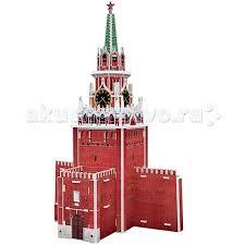 <b>CubicFun</b> 3D пазл <b>Спасская башня</b> Россия - Акушерство.Ru
