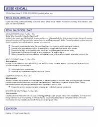 resume sample for retail sales associate  c c coresume