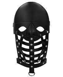 Купить Черная <b>маска</b>-<b>шлем Leather Male Mask</b> в интернет ...