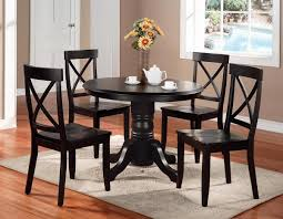 Black Dining Room Chairs Round Dining Table And Chairs Rpg Magazine