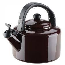 ≡ <b>Эмалированный чайник со свистком</b> GRANCHIO Allegro ...