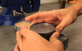Image result for opening  can of tuna