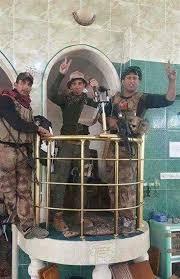 Image result for نیروهای مسلح عراق به محل سخنرانی ابوبکر بغدادی در موصل رسیدند /    ۲۹ / ۱۰/ ۱۳۹۵