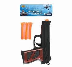 """Игровой набор """"<b>Пистолет</b>"""", <b>стрелы с</b> присосками, 3 штуки ..."""