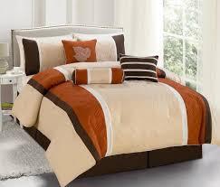 ideas burnt orange: easy burnt orange comforter for home design furniture decorating with burnt orange comforter home decoration ideas