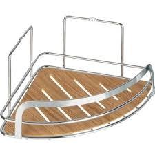 <b>Полка Fora</b> Wood для ванной комнаты угловая одинарная ...