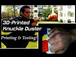 3D-<b>printing</b> And Testing This <b>Bad Boy</b>! Knuckle Dusters! - YouTube