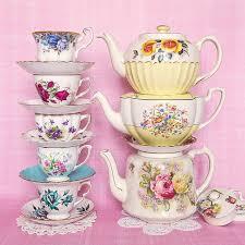 Tea time pastel prettiness | Посуда, Сладкий стол, Сервировка ...
