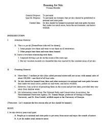 format of an outline for an essay research paper outline tidyform