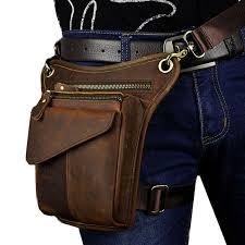 <b>YIANG 2018</b> New Men's Retro <b>Genuine Leather</b> Messenger ...