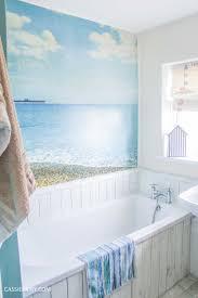 beach hut bathroom