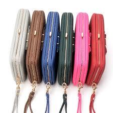 Vintage <b>Fashion Women</b> Wallet long purse <b>female high quality</b> ...