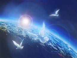 Resultado de imagen de fotos de palomas volando