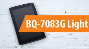 Распаковка <b>BQ</b>-<b>7083G</b> Light / Unboxing <b>BQ</b>-<b>7083G</b> Light