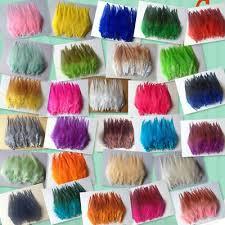 Beautiful 30pcs rooster tail little feathers <b>2</b>-<b>4inches</b> / <b>5</b>-<b>10cm</b>