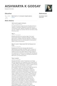 technical support analyst resume samples   visualcv resume samples    technical support analyst resume samples