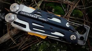 Ознакомительный обзор походного <b>мультитула Leatherman Signal</b>