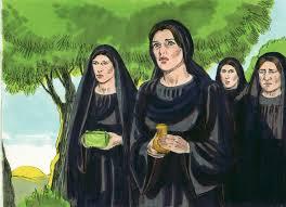Kết quả hình ảnh cho photo of Chuza and Joanna serving the disciples