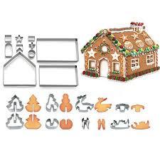 Fordawn <b>3D Christmas</b> Cookie Cutters (<b>18PCS</b>), Gingerbread ...