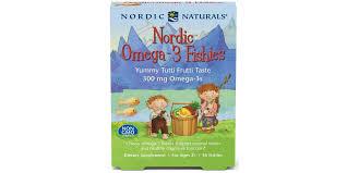 <b>Nordic</b> Naturals <b>Nordic Omega</b>-<b>3 Fishies</b>, 300mg <b>Yummy</b> Tutti Frutti ...