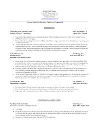 army resume format gregory l pittman army employee termination letter template