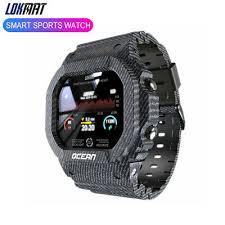 Lokmat <b>Ocean Smart Watch Men's</b> Sports Tracker Blood Pressure ...