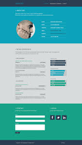 resume flat web design domestika resume flat web design 1