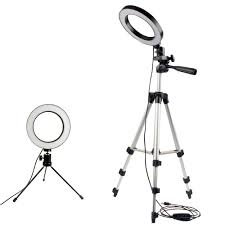 <b>Dimmable LED Studio Camera</b> Ring Light Photo Mobile Phone ...