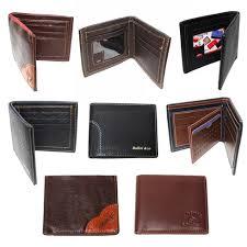 (84) <b>Classic</b> Bi-Fold <b>Men PU Leather</b> Credit Card Wallets ...