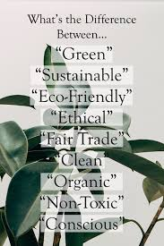 What's the Difference Between <b>Green</b>, Sustainable, <b>Eco</b>-Friendly ...