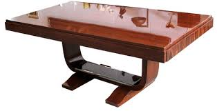 french art deco rosewood dining table art deco style rosewood