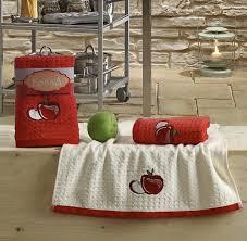 """<b>Набор кухонных полотенец</b> """"<b>KARNA</b>"""" LEMON 45х65 (2 шт) Красный"""