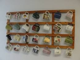 DIY mug <b>rack</b> | mug <b>racks</b> in <b>2019</b> | <b>Coffee mug holder</b>, Mug <b>rack</b> ...