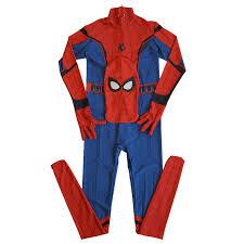 Movie <b>Spider-Man</b> Homecoming <b>Costume Adult Spiderman</b> Cosplay ...