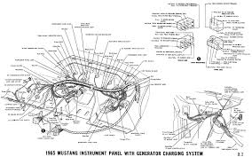 1965 mustang wiring diagrams average joe restoration included this modified version of the 1964 1 2 diagram in the 1965 collection