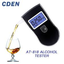 <b>Professional</b> Alcohol Tester Police LCD Display <b>Digital Breath</b> Quick ...