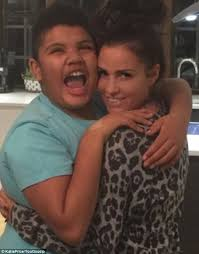 Katie Price proudly supports 'amazing' disabled son Harvey, 12, as ... via Relatably.com