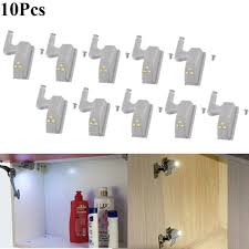 10Pcs Smart Sensor <b>Cabinet Cupboard</b> Closet Wardrobe <b>LED</b> ...