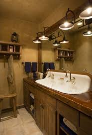 double trough sink bathroom style