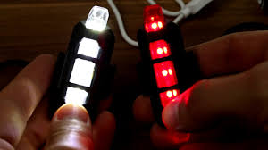 <b>Bicycle</b> LED <b>USB Rechargeable</b> Lights unboxing + test on <b>bike</b> ...