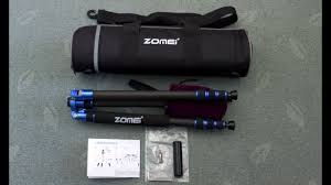 <b>Zomei Z818C</b> Travel <b>Tripod</b> Review - In depth look and test - YouTube
