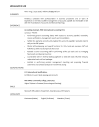 accounting assistant cv powered by career times accounting assistant cv