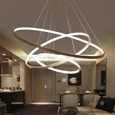 60CM 80CM 100CM <b>Modern Pendant Lights</b> For Living Room ...