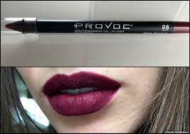 Осторожно: <b>полуперманентный карандаш для</b> губ от Provoc